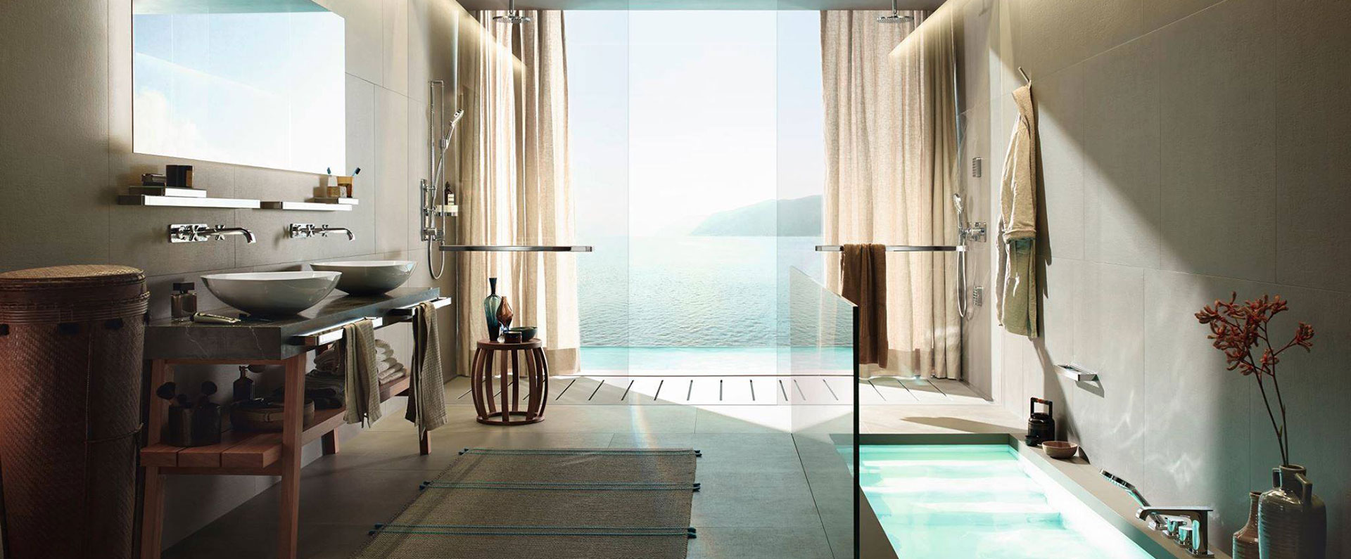 moderne minimalistisk bad